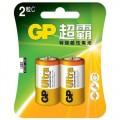 GP -C SIZE 特強鹼性電芯(2粒/裝)