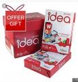IDEA WORK A4 影印紙 80gsm(5拈/箱)