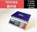 TOYOKA 電子磅+數件磅(0.1g x3kg)