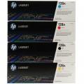 HP #128A CE321A 原廠 LaserJet 碳粉盒(黃色,藍色,紅色)