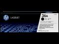 HP 36A 黑色原廠 LaserJet 碳粉盒 (CB436A)